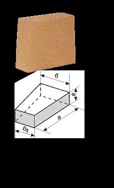 Клин трапецеидальный (двусторонний и односторонний)