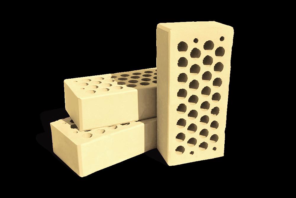 Кирпич керамический, облицовочный кремовый