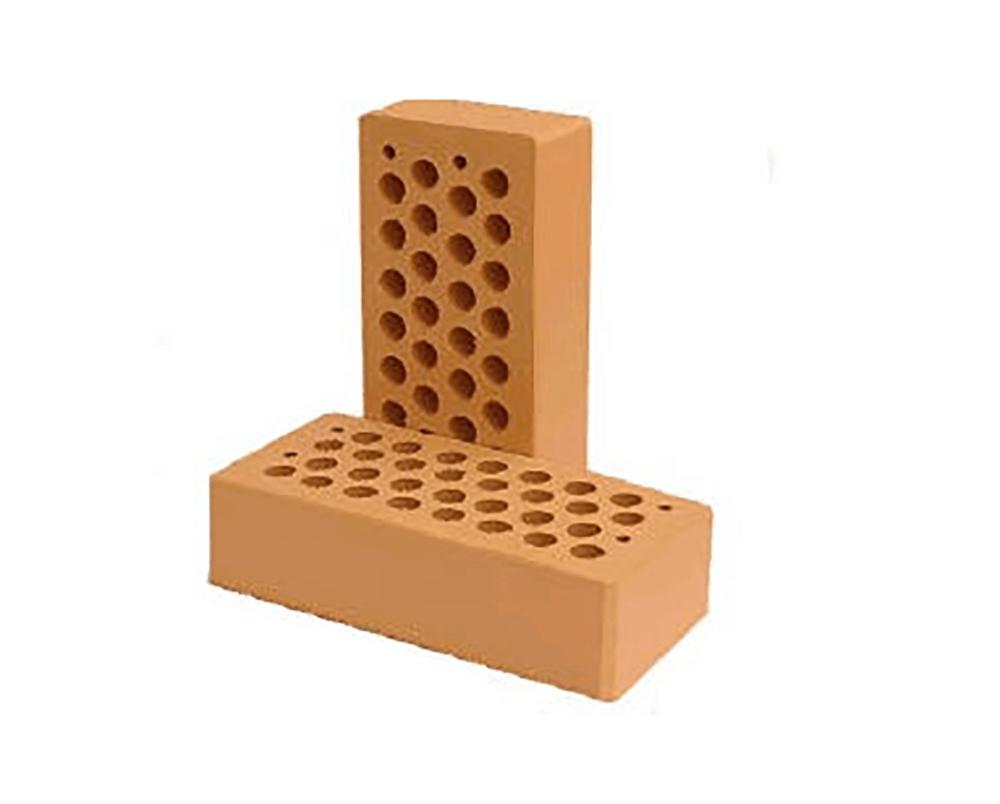 Кирпич керамический, облицовочный персиковый