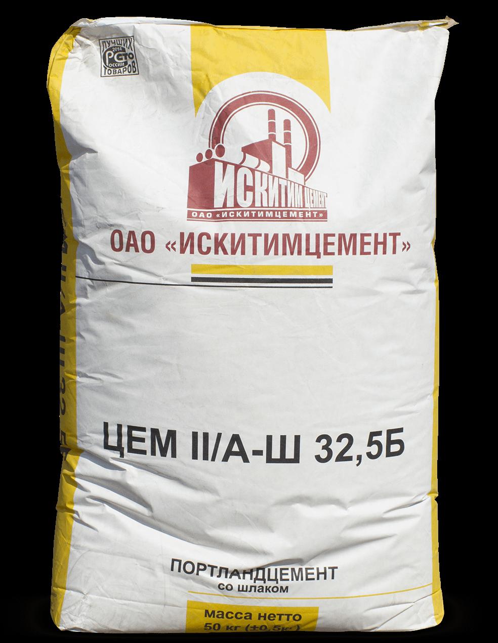 Искитимский цемент ЦЕМ II/A-Ш32,5 Б (ПЦ 400 Д20)