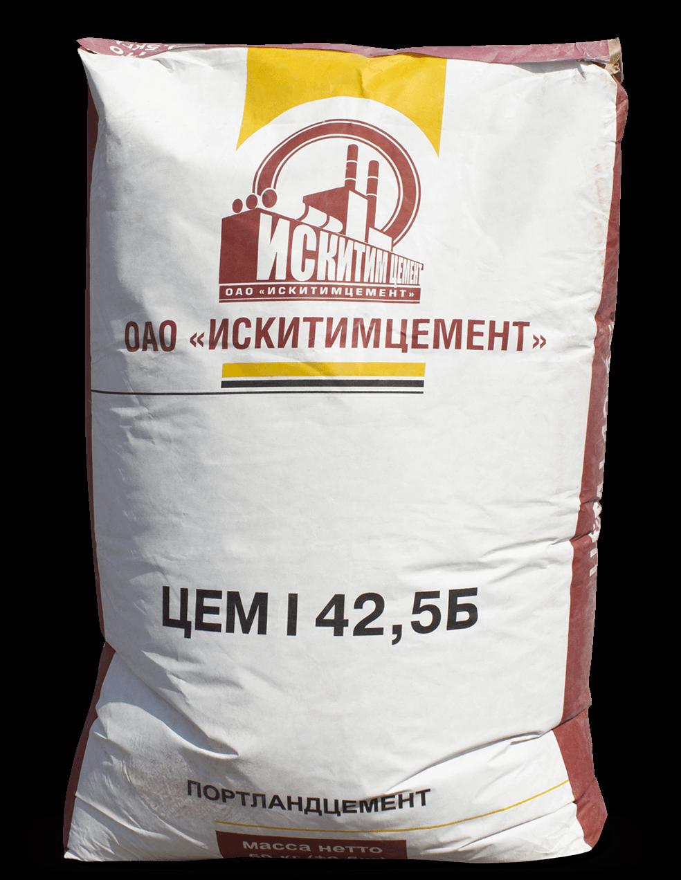 Искитимский цемент ЦЕМ I 42,5 Б (ПЦ 500 Д0)